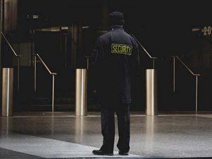 Sicherheitsmitarbeiter-Werkschutz
